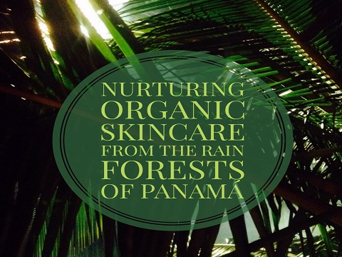 Nurturing organic skincare from the rainforests of Panama