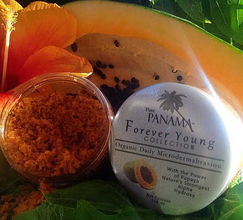 Forever Young organic daily microdermabrasion